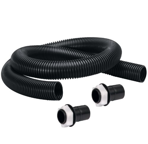 Fiskars 5960 Rain Barrel Connector Kit, Black