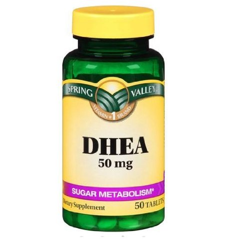 Spring Valley complément alimentaire DHEA 50mg