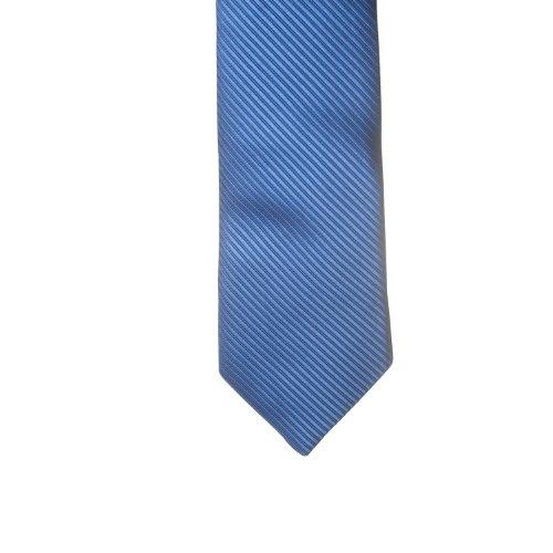 Trendige Krawatte in ästhetischem Design, Farbe: Blau