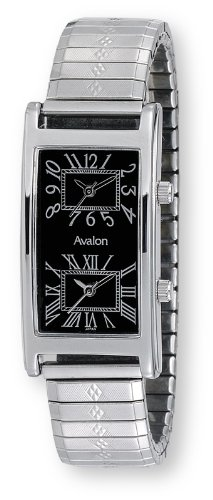 Avalon Unisex World Traveler 2 Time Zone Watch # 7090-4FS4