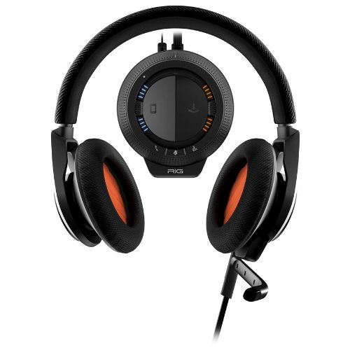 Plantronics Rig Stereo Gaming Headset With Mixer For Pc/Mac - Retail Packaging - Black
