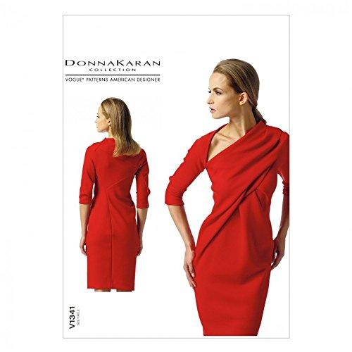 vogue-sewing-pattern-1341-ladies-dress-by-donna-karan-sizes-14-16-18-20-22