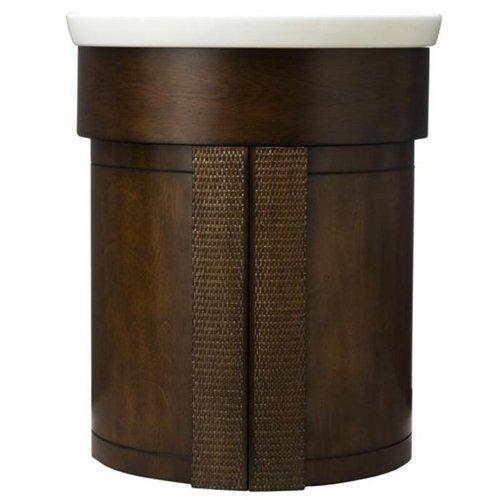 American Standard 9212.020.336 Tropic Wall Hung Washstand, Nutmeg