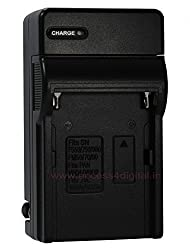 SONY NP550,750,970,FM50,FM55H,FM500H Battery Charger - Premium Quality I-Discovery Compact Battery Charger