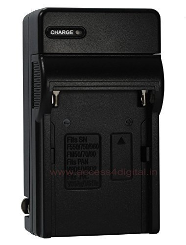 I Discovery Battery Charger (For Sony NP550,750,970,FM50,FM55H,FM500H)