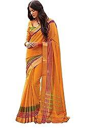 Lemoda Cotton Printed Handwooven Saree For Women MMUKE19809905390-70000030