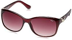Idee Rectangular Sunglasses (Brown) (S1925|C3|58)