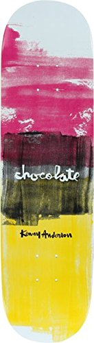 Chocolate Kenny Anderson Subtle Square Skateboard Deck - 8.125