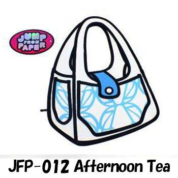 JumpFromPaper  ジャンプフロムペーパー(海外正規店商品) アニメから飛び出したようなバッグ! JFP-012 Afternoon Tea