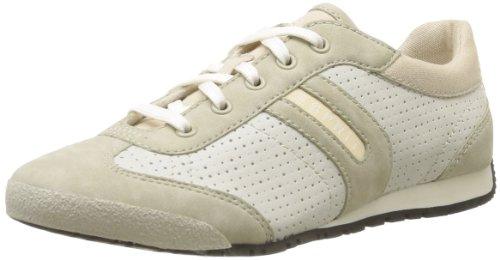 Esprit Women's Yana Lace Up Trainers Beige Beige (793 Soya Beige) 6