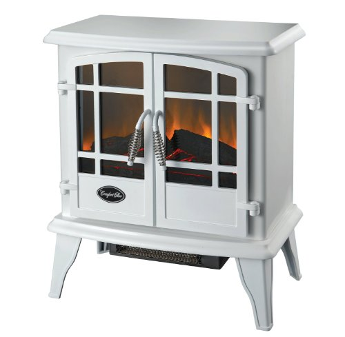Comfort Glow Es5134 Keystone Electric Stove With Thermostat, White