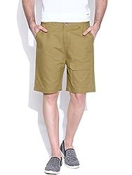 Hubberholme Slim Fit Shorts (H6801_40_Beige)