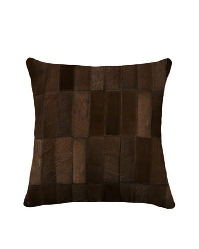 Natural Brand Torino Madrid Pillow, Chocolate