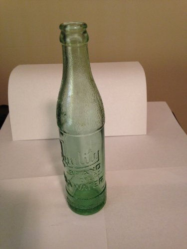 Vintage 10 Oz Quality Brand Soda Water Bottle Light Green (Grapette Bottle compare prices)