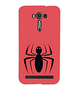 Vizagbeats Spider Back Case Cover for Asus Zenfone 2 Laser ZE550KL::Asus Zenfone 2 Laser ZE550KL (5.5 Inches)