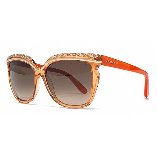 jimmy-choo-fur-frau-sophia-coral-red-orange-brown-gradient-kunststoffgestell-sonnenbrillen