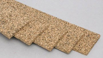 Midwest Products 3015 5-Pack Railroad Cork HO Roadbed - 1
