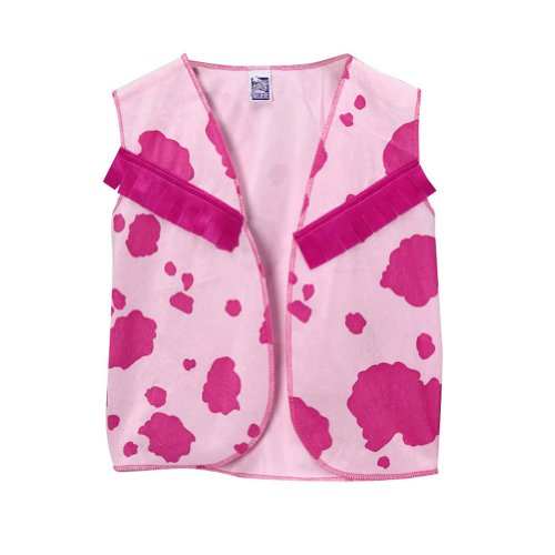 Cowgirl Vest Pink & Hot Pink Size 4/6 - 1