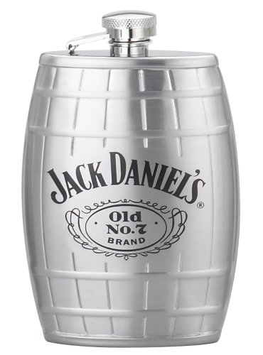 Jack Daniel's 6-Ounce Barrel Flask (Jack Daniels Barrel Flask compare prices)
