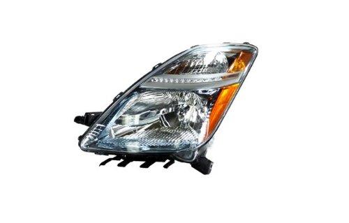 2006-2009 Toyota Prius Ccfl Halo Headlights /W Amber (Black)