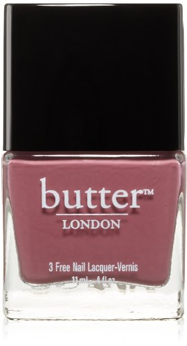 Butter London Nail Lacquer, Red Shades, Toff