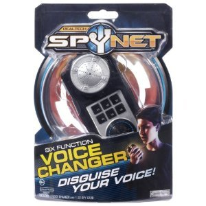 Toy / Game Spy Net: Secret Identity Voice Changer W/ Six Modes To Disguise - For Keeping Your Identity A Secret