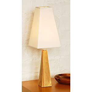 table lamp tall cone tropical hevea wood base cream shade colour. Black Bedroom Furniture Sets. Home Design Ideas