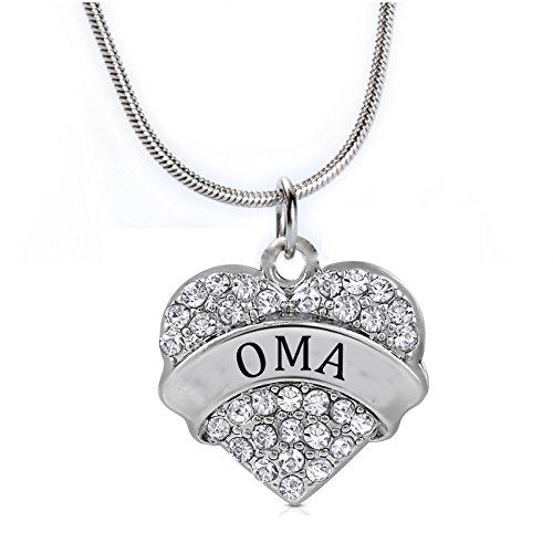 heart-oma-pendant-necklace-women-girl-white-crystal-silver-jewelry-gift
