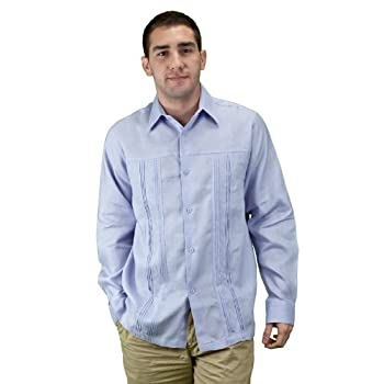 Mens beach wear shirt for wedding, linen, size xl.