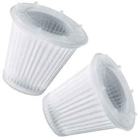 Black and Decker VF100H Replacement Filter for HEPA 15.6-Volt Cyclonic DustBuster 2-PACK