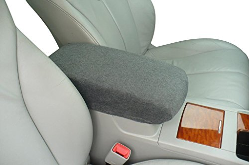HONDA CIVIC 2006-2013 Car Auto Center Armrest Console Cover. Protects from Dirt and Damage Renews old damaged consoles - Dark Gray (Civic Center Console compare prices)