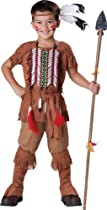 Hot Sale InCharacter Costumes, LLC Indian Brave, Tan, 10