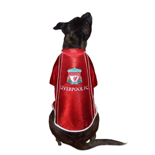 Liverpool Fc Official Football Gift Dog Pet Shirt Coat Red Rrp