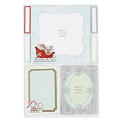Martha Stewart Crafts Snow Lace Frame Stickers