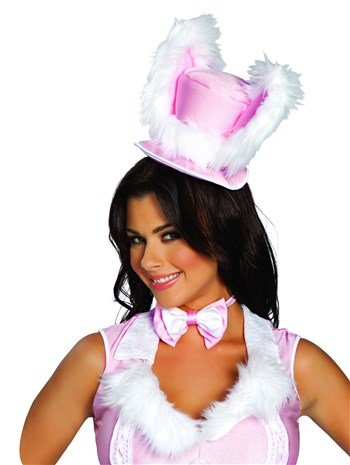 Adult White Rabbit Hat