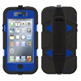 Griffin Survivor Military Tested Case for iPhone 5/5s (Black Blue)