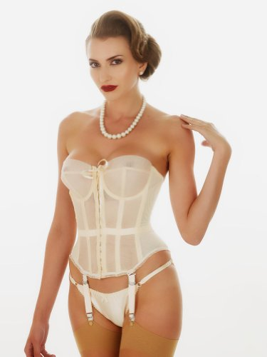 What Katie Did Lana 1950s Vintage Merry Widow Basque