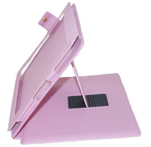 Case Busta Custodia pelle PU per iPad 1 rosa fucsia pink elegante di RBrothersTechnologie