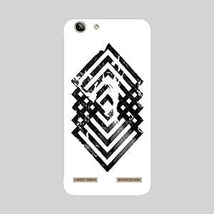Back cover for Lenovo Vibe K5 Plus Geometry Design