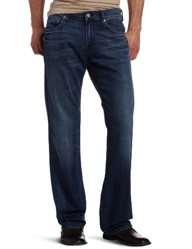7 For All Mankind Men's Austyn Relaxed Straight Leg Jean in Nirvana Sun