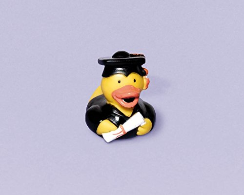 Set of 2 Mini Graduation Rubber Ducks