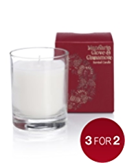 Mandarin, Clove & Cinnamon Filled Candle