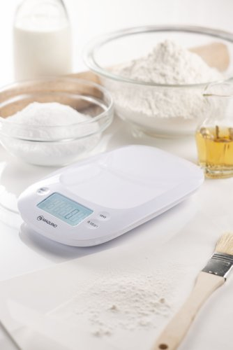 [Precision] White 0.1g unit MKS-801WH MAQUINO Digital Kitchen Scale (japan import)