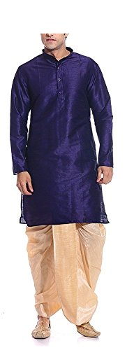 AMG Men's Dhoti Kurta Set