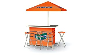 Florida Gators College Portable Bar with Bar Stools by Best of Times