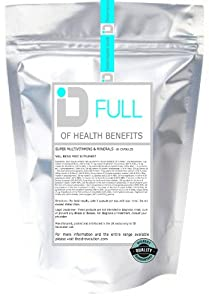 ID FULL - of Health Benefits (60 capsules) BEST SELLER A to Z Multi vitamin & Minerals ADVANCED COMPLETE FORMULA