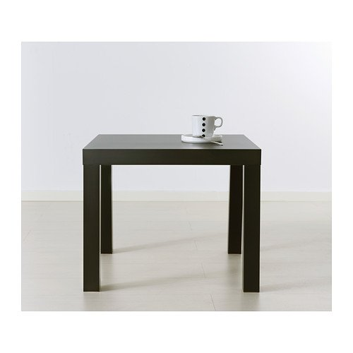 This Ikea coffee table is cost effective and looks simple.