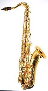 Barrington Model BR ST208 Standard Tenor Saxophone Lacquer Finish w/Hi F#Key