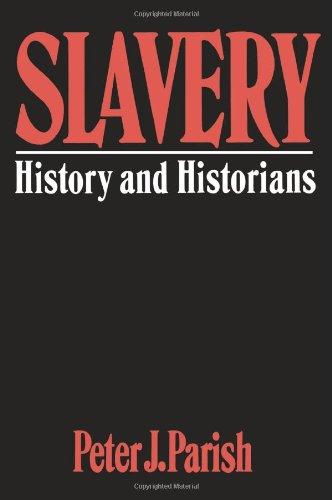 Slavery: History And Historians