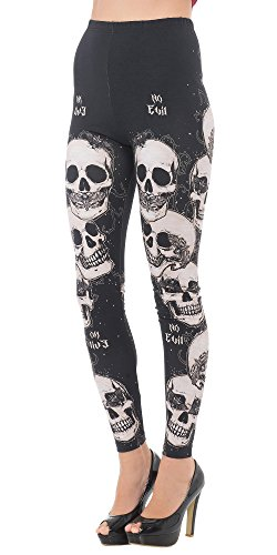 Jawbreaker -  Leggings  - Donna nero Large
